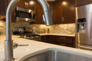 sink in remodeled kitchen