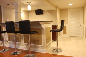 Basement remodeling pennington