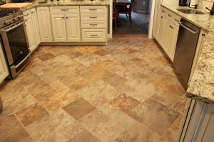 Kitchen Floor Renovation Mercer County NJ