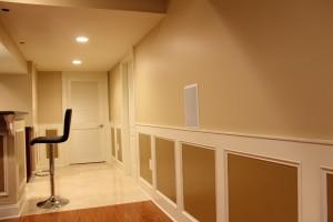 Remodeled basement contractor pennington