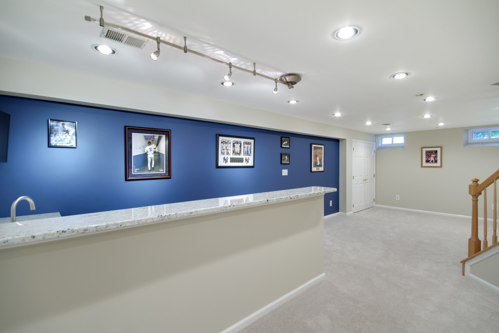 West Windsor Basement Remodel Sabatino Des Home Renovations