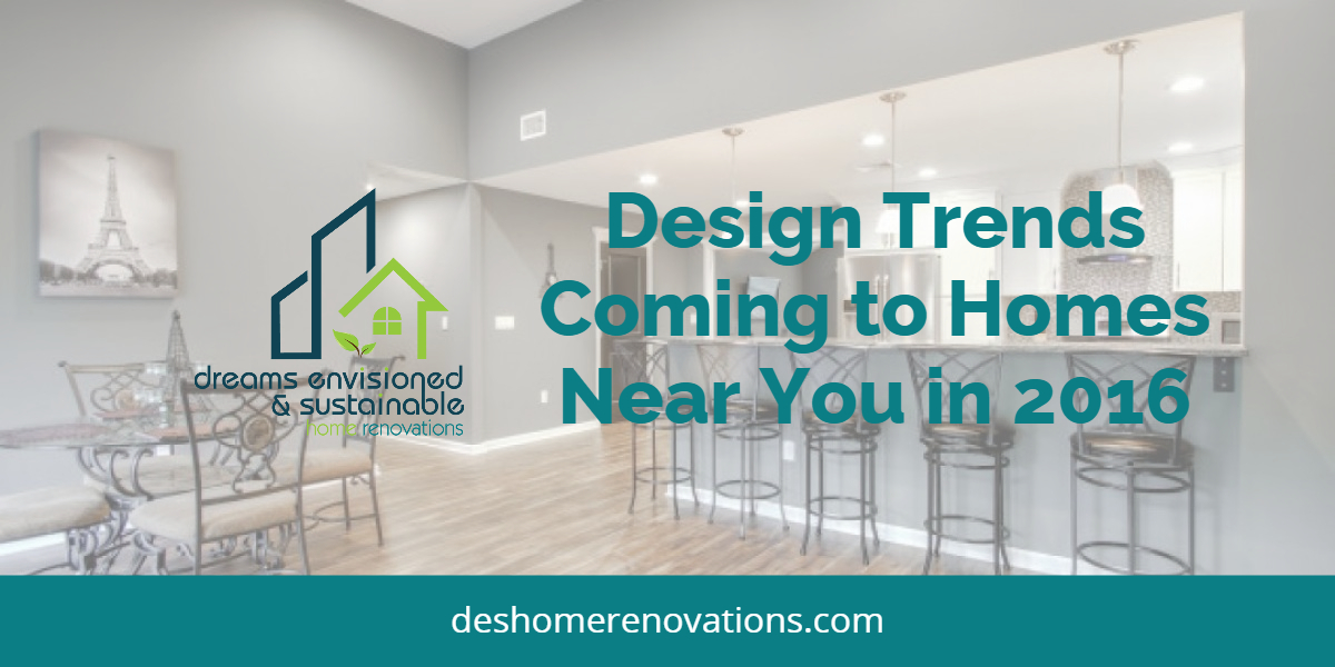 NJ Home Design Trends 2016